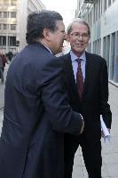 Participation de José Manuel Barroso, président de la CE, à la conférence du Système européen de stratégie et d'analyse