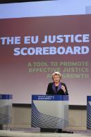 Press conference by Viviane Reding, Vice-President of the EC, on the EU Justice Scoreboard