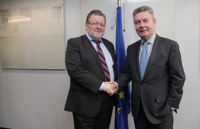 Visit of Össur Skarphéðinsson, Icelandic Minister for Foreign Affairs, to the EC