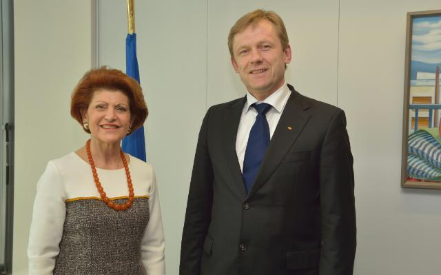 Visit of Šarūnas Birutis, Lithuanian Minister for Culture, at the EC