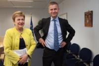 Visit of Erik Solheim, Chair of the Development Assistance Committee of the OECD, to the EC