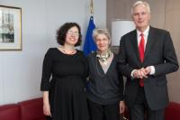 Visit of Bernadette Ségol, General Secretary of the ETUC, to the EC