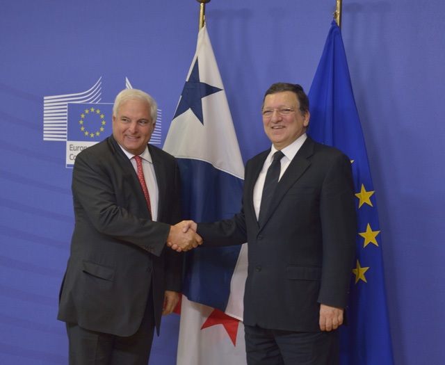 Visit of Ricardo Martinelli, President of Panama, to the EC