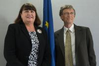 Signature ceremony for the creation of the new partnership between the EU and the Bill & Melinda Gates Foundation to fight against poverty-related diseases