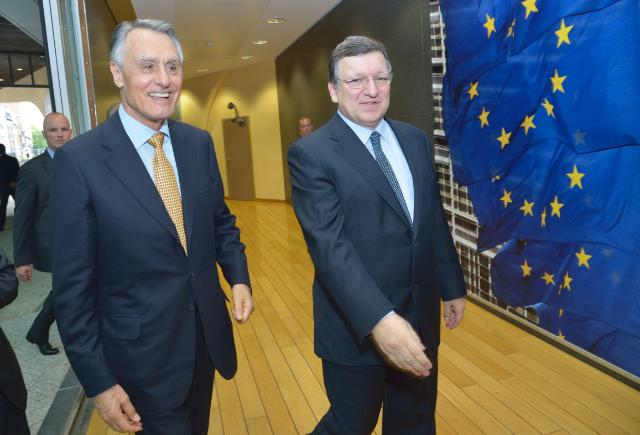 Visit of Aníbal Cavaco Silva, President of Portugal, to the EC