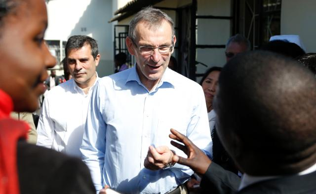 Visit of Andris Piebalgs, Member of the EC, to Zambia