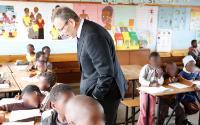 Visit of Andris Piebalgs, Member of the EC, to Zambia