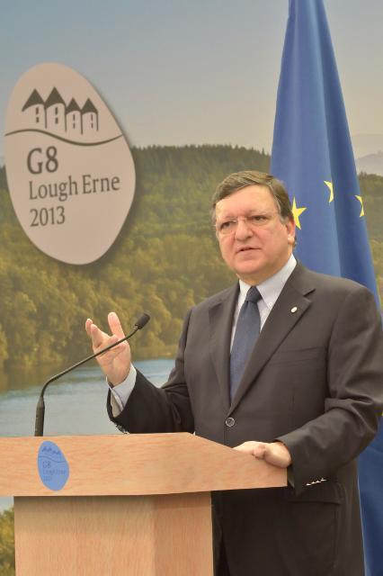 Sommet du G8 à Lough Erne