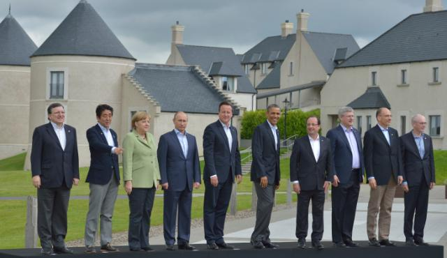 G8 Summit in Lough Erne