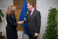 Visit of Cristina Elena Teniente Sánchez, Vice-President, Spokesperson and Minister for Employment, Enterprise and Innovation of the Regional Government of Extremadura, to the EC