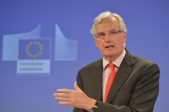 Press conference by Michel Barnier, Member of the EC, on the establishment of a Single Resolution Mechanism for the Banking Union