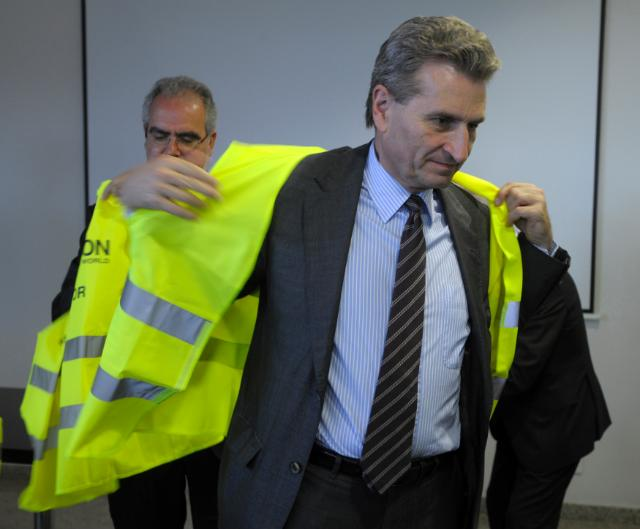 Visit by Günther Oettinger, Member of the EC, to Portugal