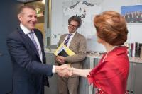 Visit of Sergey Bubka, Executive Board Member of the IOC and President of the National Olympic Committee of Ukraine, to the EC