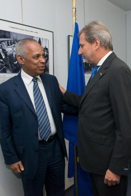 Visit of Victorin Lurel, French Minister for Overseas, to the EC