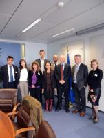 Visit of a delegation of the Members of the Green 10 to the EC