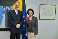 Visit of Jörg Monar, Rector of the College of Europe, to the EC