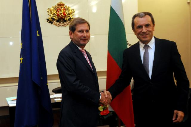 On the right track for 2014-20: Commissioner Hahn in Bulgaria
