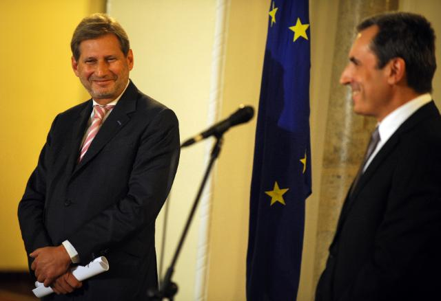 Visit of Johannes Hahn, Member of the EC, to Bulgaria