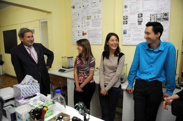 Visit of Johannes Hahn, Member of the EC, to Bulgaria