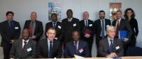 Visit of Lucien Marie Noël Bembamba, Burkinabe Minister for Economy and Finance, to the EC