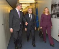 Visi of Ilir Meta, Speaker of the Albanian Parliament, to the EC
