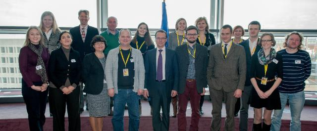 Visit of a group of Lithuanian journalists to the EC