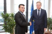 Visit of Zoran Zaev, President of the Social Democratic Union of the former Yugoslav Republic of Macedonia and Mayor of Municipality of Strumica, to the EC