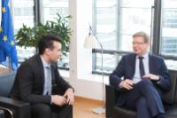 Visit of Zoran Zaev, President of the Social Democratic Union of Macedonia and Mayor of Municipality of Strumica, to the EC