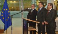 Visit of the Portuguese choir 'Cantar as Janeiras' to the EC