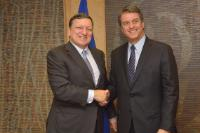 Visit of Roberto Azevêdo, Director-General of the World Trade Organization, to the EC