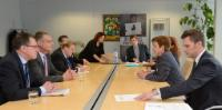 Visit of Markus Ederer, Secretary of State to the German Federal Ministry for Foreign Affairs, to the EC