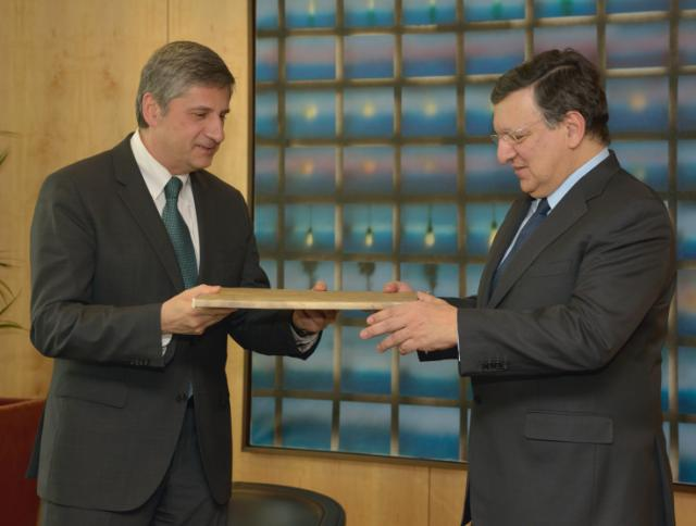 Visit of Michael Spindelegger, Austrian Federal Vice-Chancellor and Minister for Finance, to the EC