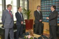 Visite de Michael Spindelegger, vice-chancelier fédéral autrichien et ministre des Finances, à la CE