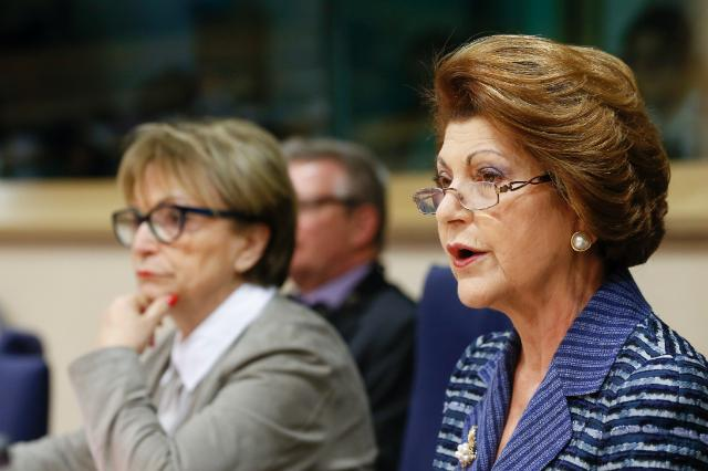 Participation of Androulla Vassiliou, Member of the EC, at the meeting of the Committee on Culture and Education of the EP