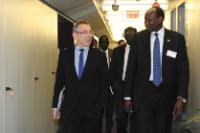 Visit of Barnaba Marial Benjamin, South Sudanese Minister for Foreign Affairs and International Cooperation, and Awan Andrew Guol Riak, Minister in the Office of the President of South Sudan, to the EC