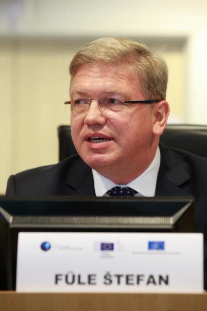 Launch of the first EU-Southern Neighbourhood Civil Society Forum, with the participation of Štefan Füle, Member of the EC