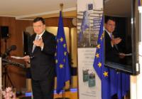 Participation de José Manuel Barroso, président de la CE, à la présentation du livre 'La Commission européenne 1973-1986: Histoire et mémoires d'une institution'