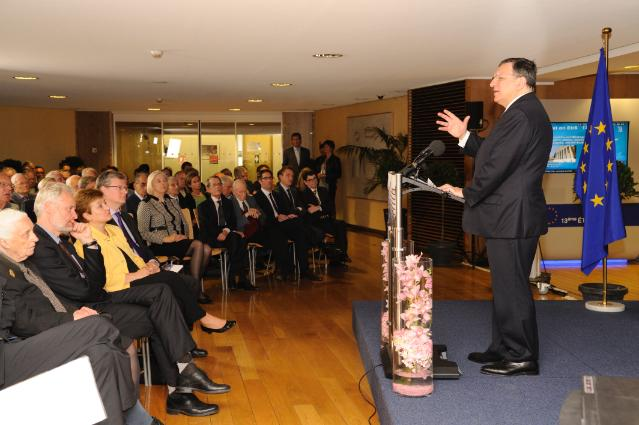 Participation of José Manuel Barroso, President of the EC, in the presentation of the book 'The European Commission 1973-1986: History and memories of an institution'