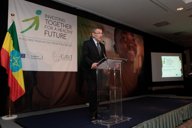 Participation of José Manuel Barroso, President of the EC, and Andris Piebalgs, Member of the EC, in the 2nd replenishment launch meeting of the GAVI Alliance