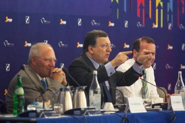Participation of José Manuel Barroso, President of the EC, in one of the Study Days of the EPP Group