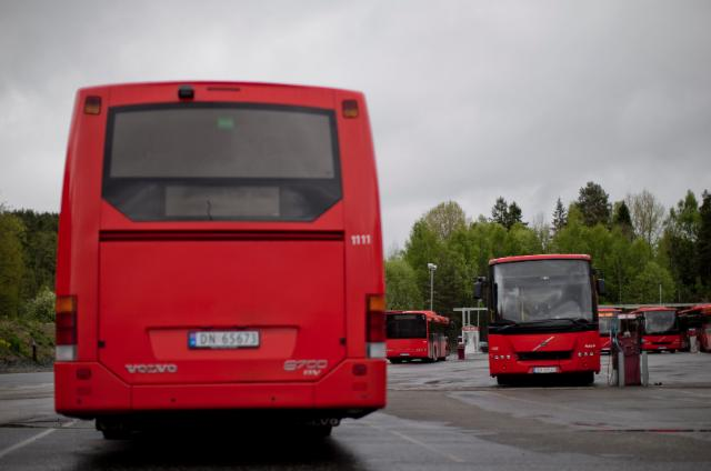 Service station for Hydrogen buses;  Norway
