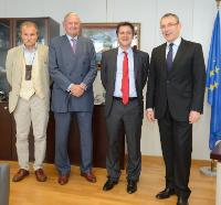 Visit of Emmanuel de Mérode, Director of Virunga National Park in the Democratic Republic of the Congo, to the EC