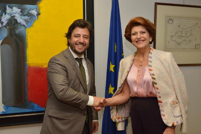 Visit of Miguel Poiares Maduro, Portuguese Minister Assistant and Minister for Regional Development, to the EC