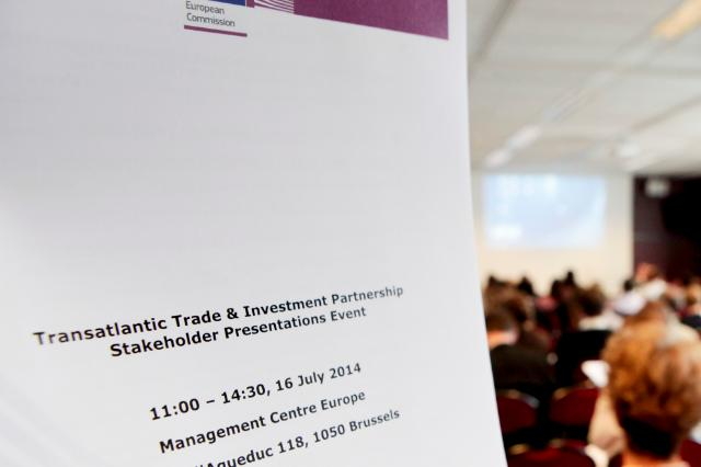 Sixth round of the Transatlantic Trade and Investment Partnership negotiations, Brussels, 14-18/07/2014