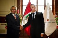 Visit of Andris Piebalgs, Member of the EC, to Peru