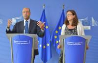 "Illustration of ""Joint press conference by Angelino Alfano, Italian Minister for the Interior, and Cecilia Malmström,..."