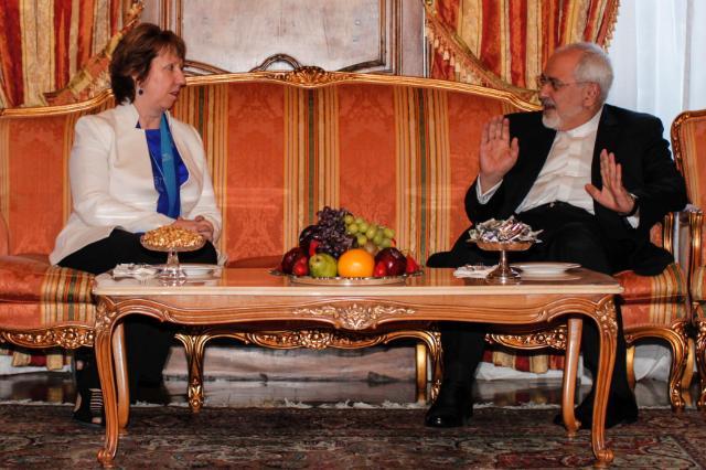 """Illustration of """"Participation de Catherine Ashton aux discussions nucléaires E3/UE+3 avec l'Iran"""""""