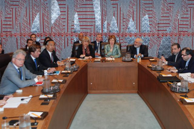 Participation of Catherine Ashton, Vice-President of the EC, in the E3/EU+3 nuclear talks in New York