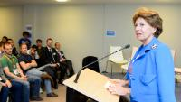 """Illustration of """"Participation of Neelie Kroes, Vice-President of the EC, to the Unconvention 2014 - Neelie's Round Table..."""