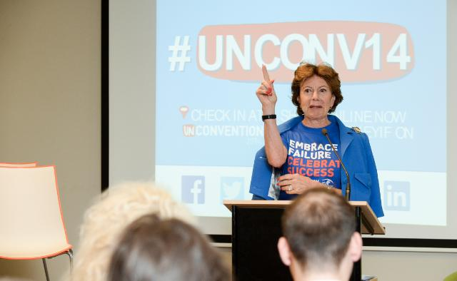 Participation of Neelie Kroes, Vice-President of the EC, to the Unconvention 2014 - Neelie's Round Table event